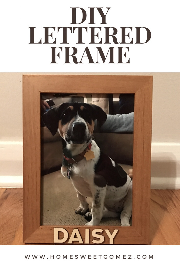 Easy Lettered Frame